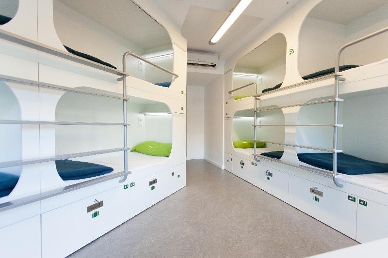 Слипбоксы, двухъярусные конструкции, vip кровати для хостела