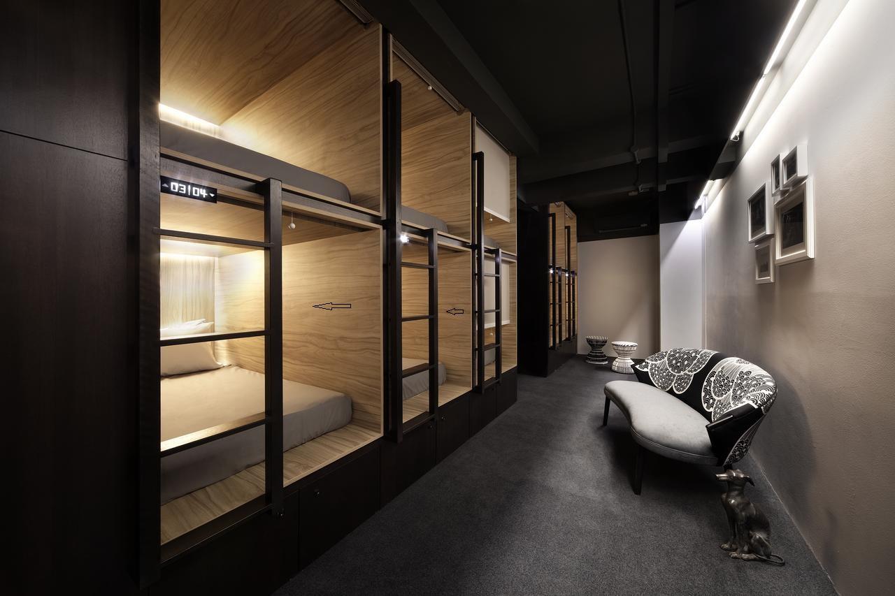 Двухъярусная кровать для хостела, капсульная кровать